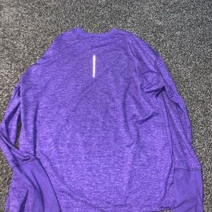 women's NIKE RUNNING SHIRT purple